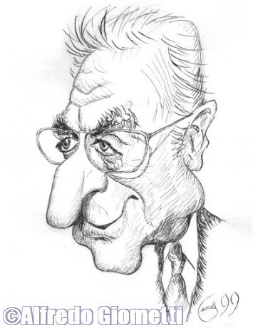 Caricatura di Francesco Cossiga